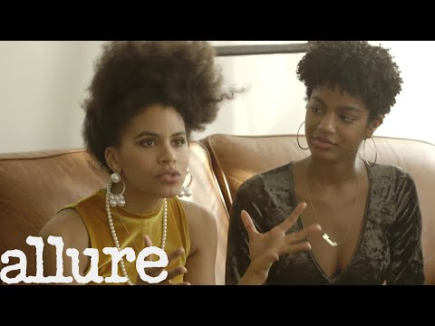 Zazie Beetz and Dascha Polanco Discuss How the World Sees Their Natural Hair | Allure