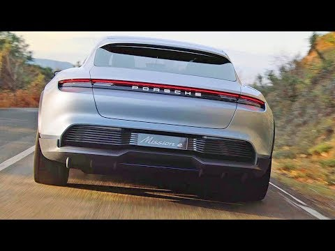 Porsche Mission E Cross Turismo (2018) Next-Gen EV Porsche