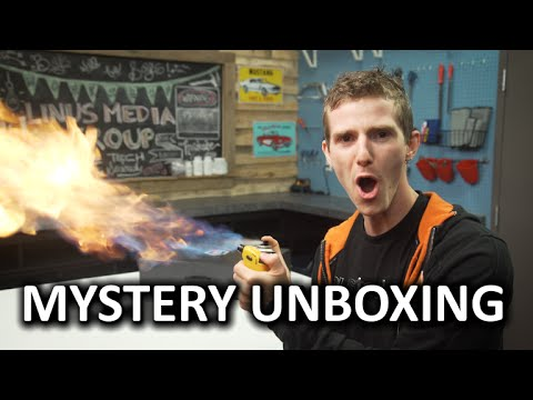Mystery Unboxing from Intel???