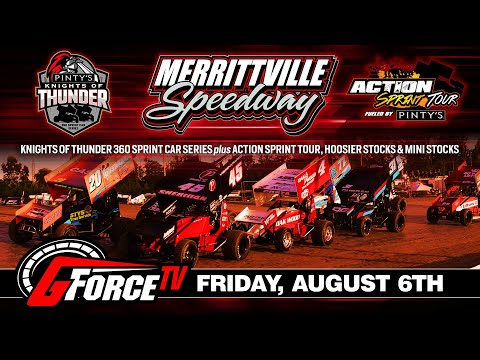 8/06/2021-Pinty's Hot Wing Tour - Merrittville Speedway - dirt track racing video image