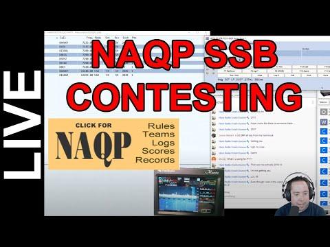 NAQP SSB Live Contesting