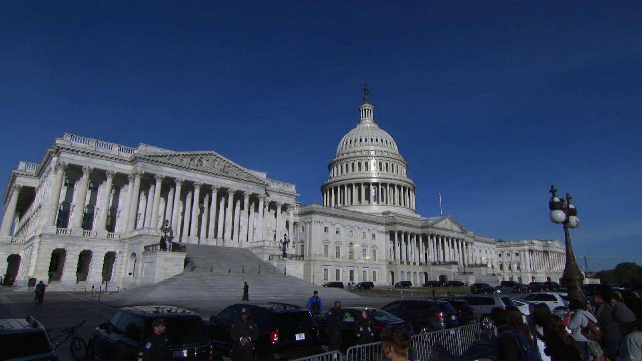 Biden on Capitol Hill to push agenda, unite Dems
