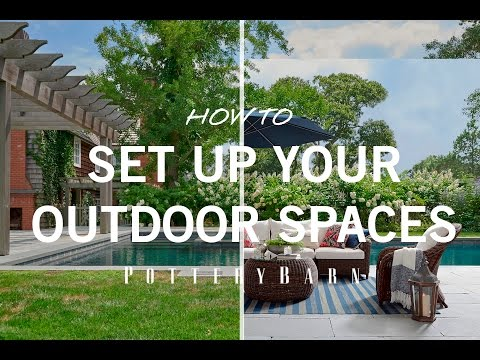 How to Set up Your Outdoor Spaces