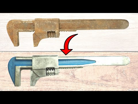 Restoring OLD Rusty WRENCH