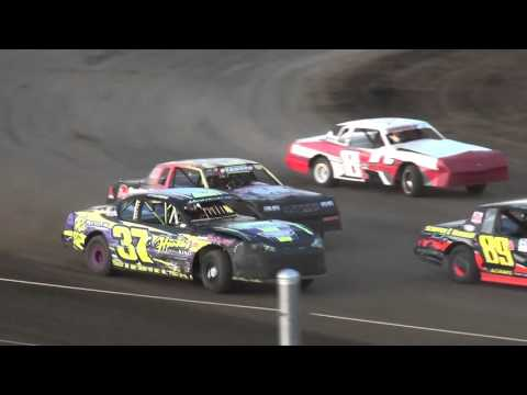 IMCA Stock Car Heat of the Week Independence Motor Speedway 4/23/16 - dirt track racing video image