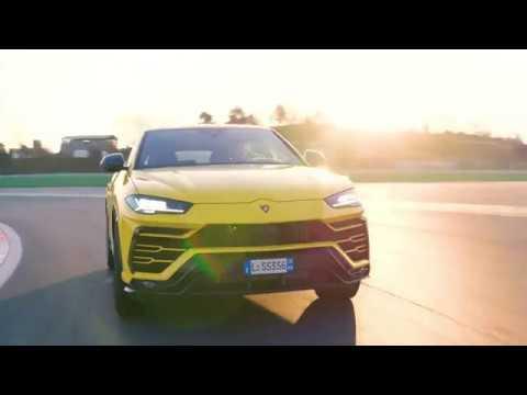 Lamborghini Urus: Dynamic Launch