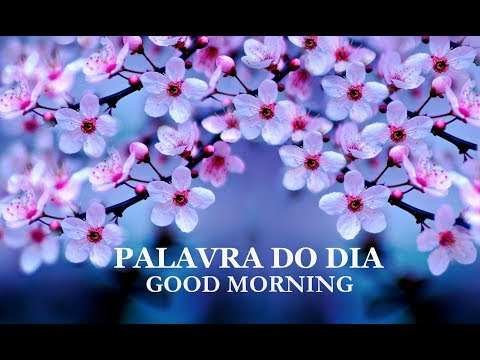PALAVRA DO DIA 31/07/2019 - MENSAGEM DE BOM DIA MOTIVACIONAL PARA REFLEXÃO DE VIDA GOOD MORNING DAY