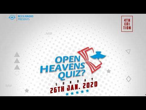 OPEN HEAVENS QUIZ 5TH EDITION