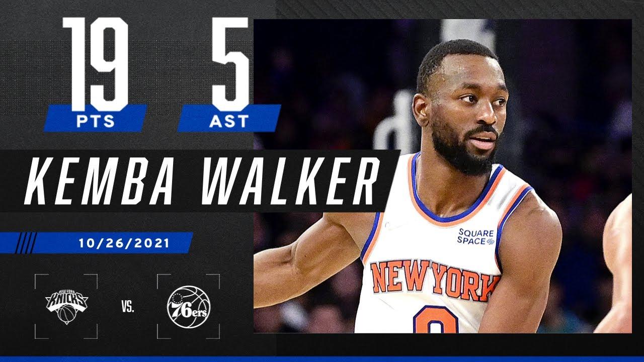 Kemba Walker drops 19 PTS & 5 AST in W vs. the 76ers