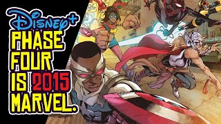 Marvel's DISNEY PLUS Shows: Phase Four MCU is 2015 All Over Again.