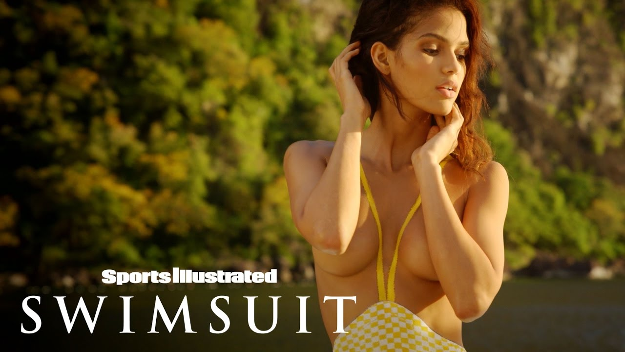 Cris Urena Bares All For Her One-Of-A-Kind Body Painting   Sports Illustrated Swimsuit