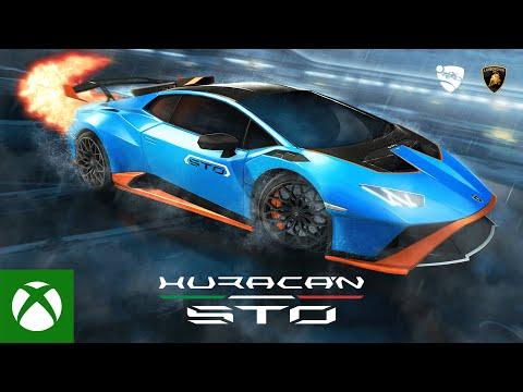 Rocket League — Lamborghini Huracán STO Trailer