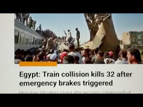 Egypt Tragic Train Wreck, Thousands Flee Venezuela Violence