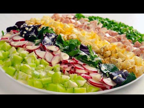Быстрый Красивый САЛАТ на Праздничный стол! Весенний Пасхальный Салат