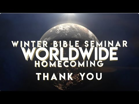 Winter Bible Seminar & Rhema Worldwide Homecoming 2019 Recap