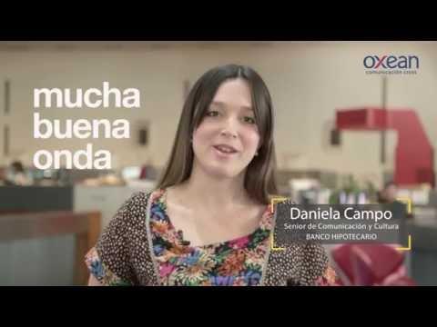 Grupo Oxean - Testimonio Banco Hipotecario - Daniela Campo