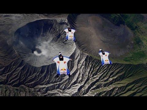 Wingsuit Flight Over an Active Volcano - UCblfuW_4rakIf2h6aqANefA