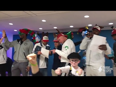 Boston Celtics + Boston Children's Hospital Holiday Mannequin Challenge!
