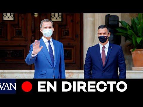 DIRECTO: Felipe VI y Pedro Sánchez participan en una entrega de premios en Barcelona