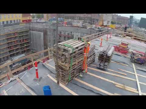 ZÜBLIN A/S - Project BLOX: Progress of Construction II