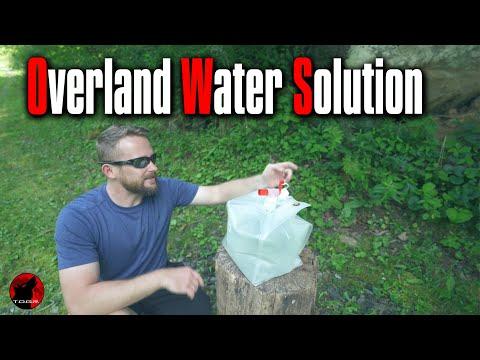 Jerry Can Alternative - SmartBottle Water Bottle (Bag) - Overlanding Survival