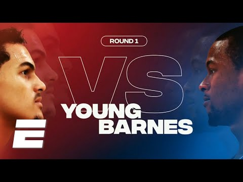 NBA 2K Players Tournament Highlights: Trae Young vs. Harrison Barnes
