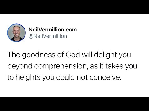 You Will Know My Great Love For You - Daily Prophetic Word