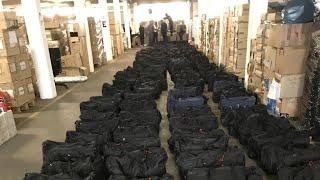 Milliardenschwerer Fund: Mehrere Tonne Kokain in Hamburger Hafen gefunden