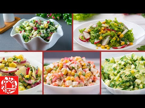 5 Весенних САЛАТОВ для тех, кто не любит долго готовить! photo