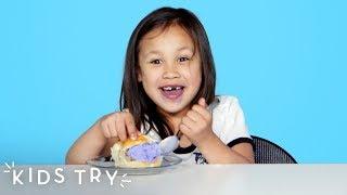 Kids Try Ice Cream from Around the World | Kids Try | HiHo Kids