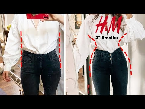H&M TRY-ON HAUL🔥 *LOOK BETTER Instantly with CORSET jeans*
