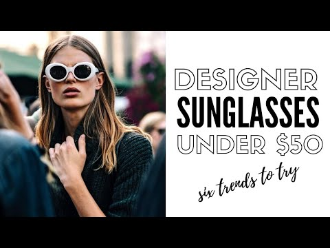 Video: 6 sunglass styles to wear now | fashion trends 2019