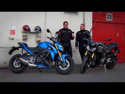 Motosx1000 : Suzuki GSX- S1000 vs BMW S1000R