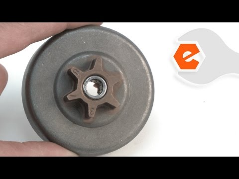 Chainsaw Repair - Replacing the Clutch Drum (Poulan Part # 530057905)