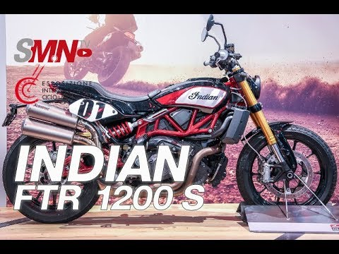 Indian FTR 1200 S 2019 - EICMA 2018 [FULLHD]