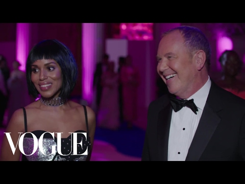 Kerry Washington and Michael Kors on Her Sexy Cutout Dress | Vogue