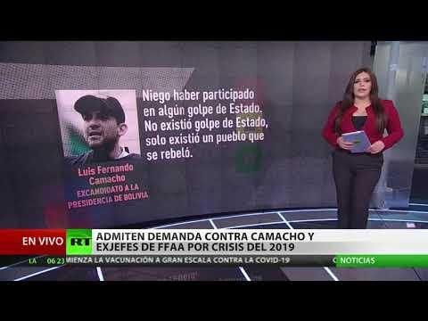 Bolivia: La Fiscalía admite demanda contra Camacho y exjefes de las Fuerzas Armadas por la crisis