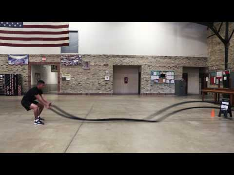 National Guard Fitness l Battle Ropes