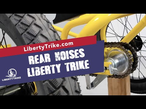 Liberty Trike |  Finding and Fixing the Rear Noises on the Liberty Trike