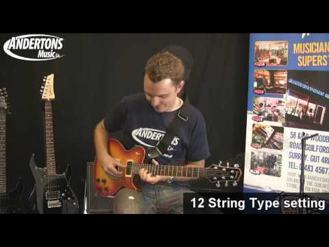 James Tyler Variax JTV-59 Guitar Demo and Overview - Part 4