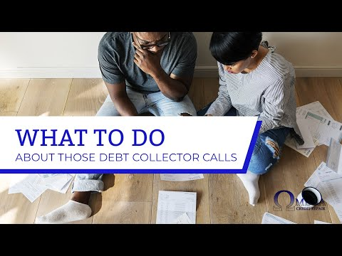 Getting calls from debt collectors..? Watch THIS!