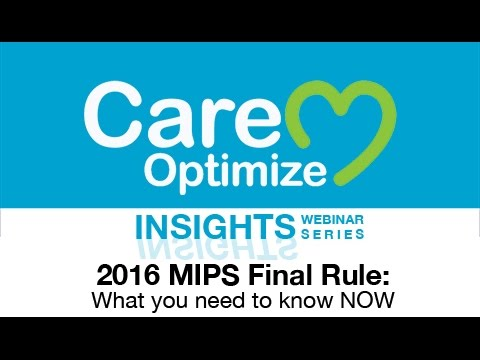 MIPS Final Rule: What You Need to Know NOW