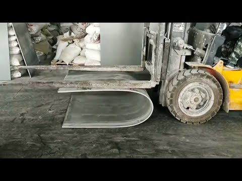 Bending strength testing for PVC plastic formwork, PVC formwork, PVC shuttering, plastic formwork