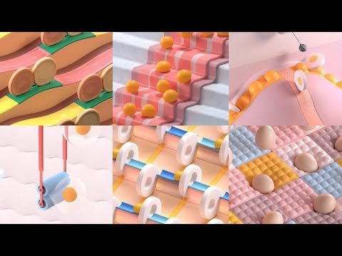 "TBWA creates ""soothing and hypnotising"" animations to promote McDonald's Egg McMuffin"