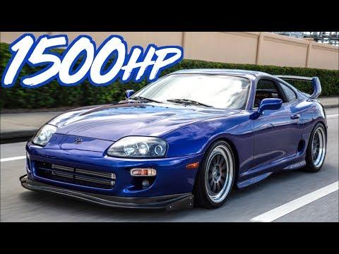 1500HP Supra Gettin' Rowdy on the Street - 2JZ Eargasm!