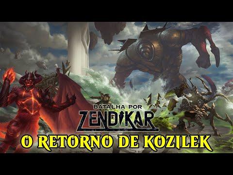 O PODER DE KOZILEK E OB NIXILIS | MTG LORE - BATALHA POR ZENDIKAR #2