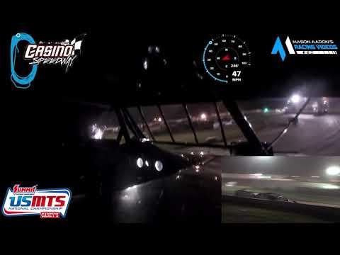 #37 Scott Ward WISSOTA/USMTS Modified On-Board @ Casino (7/14/21) - dirt track racing video image