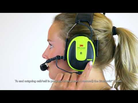 Operate Streaming and Phone   3M™ PELTOR™ WS™ ALERT™ XPI User Instructions
