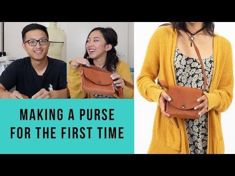 DIY Leather Bag | My Boyfriend Sews