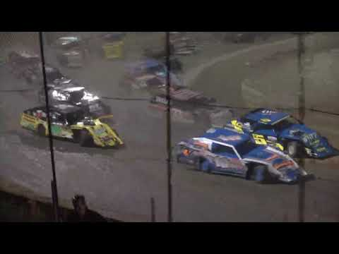 American Modified Series A-Main from Moler Raceway Park, July 9th, 2021. - dirt track racing video image